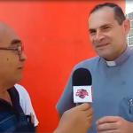 Sacerdote Andrés Echevarría hincha fiel de Atlético Grau