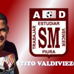 AD San Miguel: Antonio Valdiviezo se viste de granate